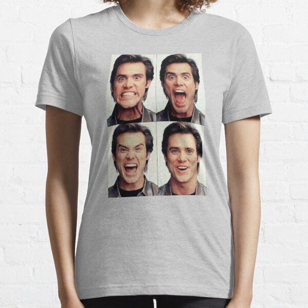 Jim Carrey faces in color Essential T-Shirt