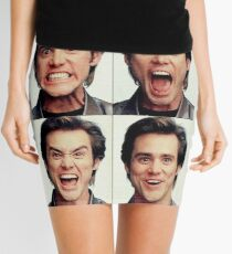 Jim Carrey faces in color Mini Skirt