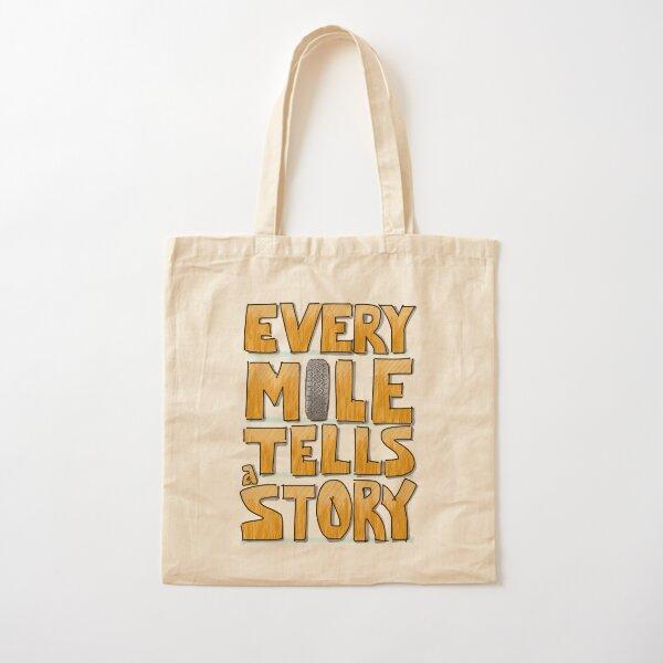 Tire in the Mile Cotton Tote Bag