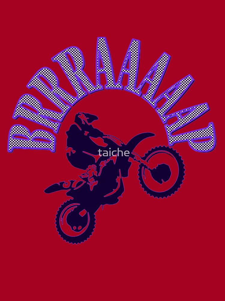 Brrraaaaap Blue Checkered Flag Moto Language Kids T Shirt By Taiche Redbubble