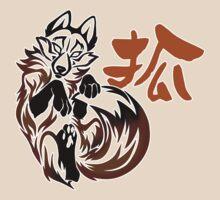 Fox tribal tattoo