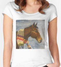 Dr Whooves Fitted Scoop T-Shirt