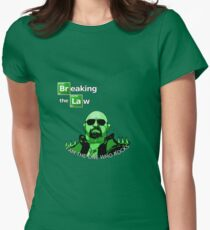 Breaking the Law Women's Fitted T-Shirt