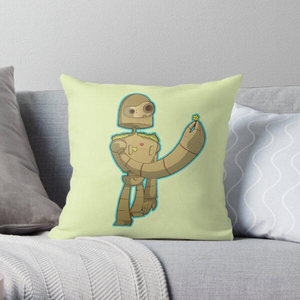 Laputa bot Throw Pillow