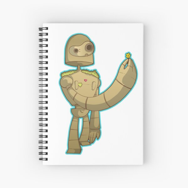 Laputa bot Spiral Notebook