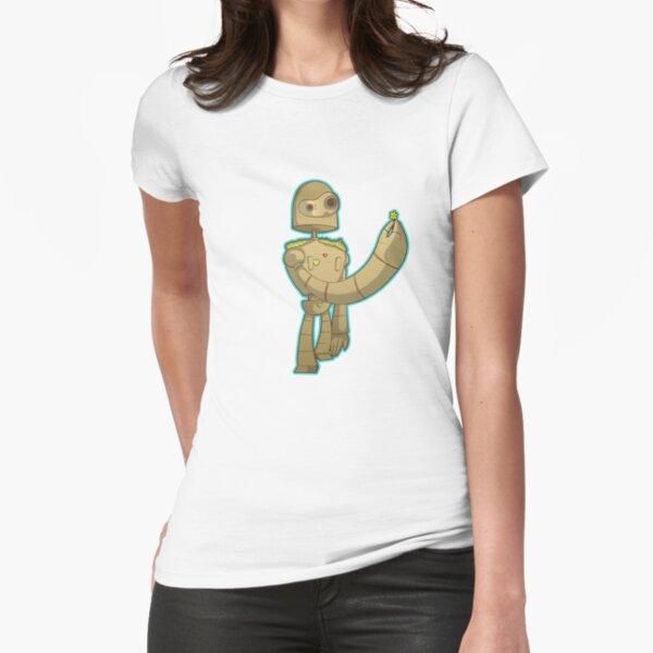 Laputa bot Fitted T-Shirt