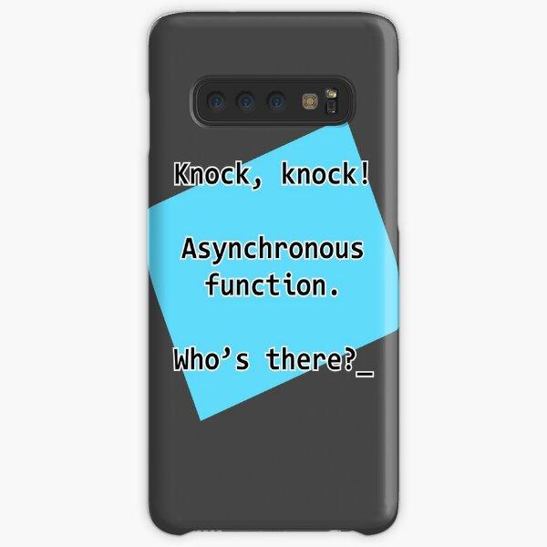 Knock Knock JavaScript Samsung Galaxy Snap Case