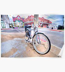 Bike - Galveston, Texas Poster