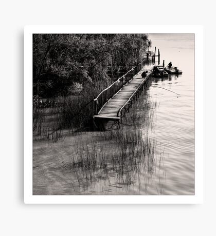 Life Close The River VII Canvas Print