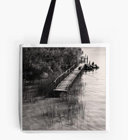 Life Close The River VII Tote Bag