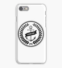Zeeuwse Boef 2 iPhone Case/Skin