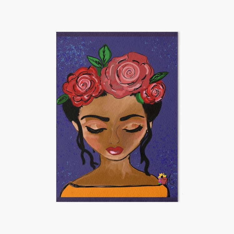 Eve Print by Jami Amerine Art Board Print