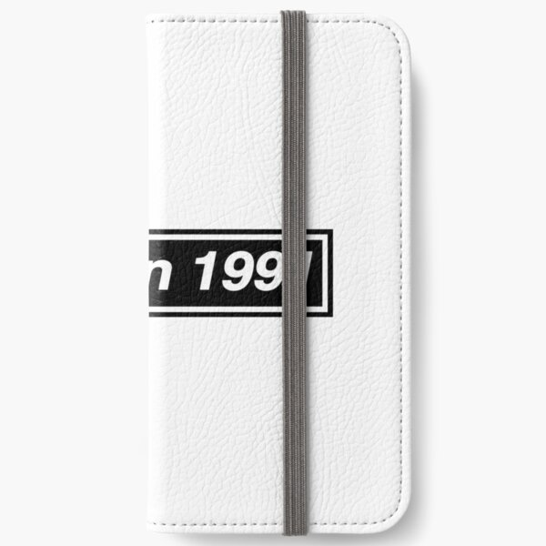 Made in 1991 - OASIS Band Tribute iPhone Wallet