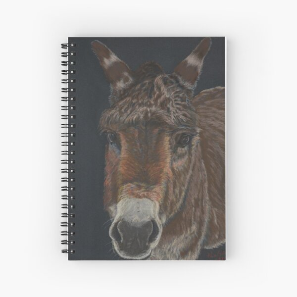 Little Donkey Spiral Notebook