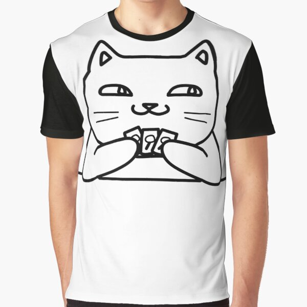 Hidden Traitor Kitty Graphic T-Shirt