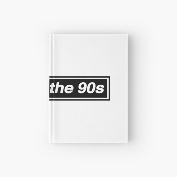 Made In The 90s - OASIS Band Tribute [White Background] Hardcover Journal