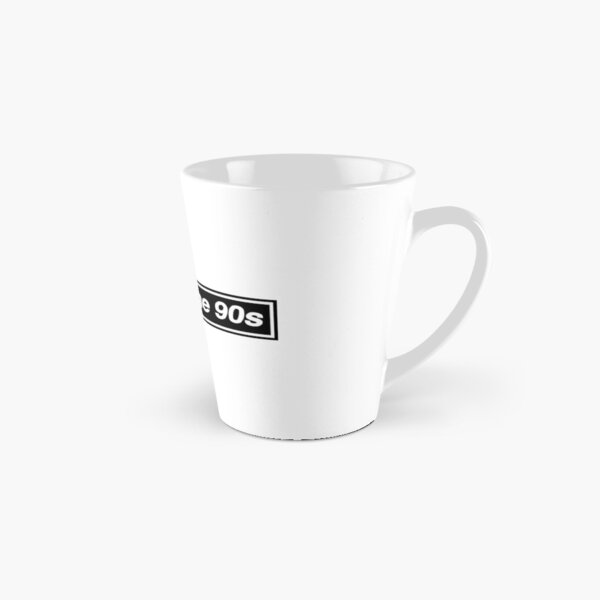 Made In The 90s - OASIS Band Tribute [White Background] Tall Mug