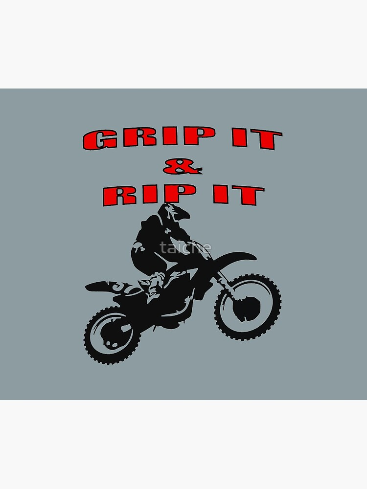 Grip It and Rip It Dirt Bike Racer by taiche