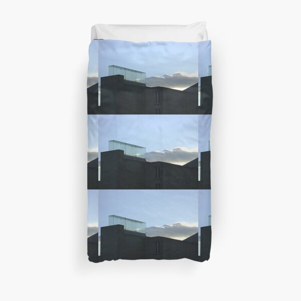 a trap for clouds Duvet Cover