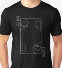 King of Spades - Outline T-Shirt