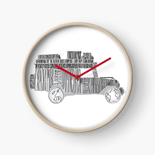 Artsy Sketchy Clock