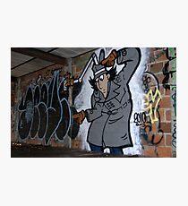 Inspector Spraycan Photographic Print