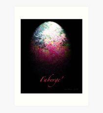 Faberge' Egg Art Print