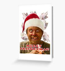 Rickety Cricket Christmas Greeting Card