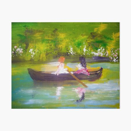 AfterNoon Anne by Colleen Ranney Art Board Print