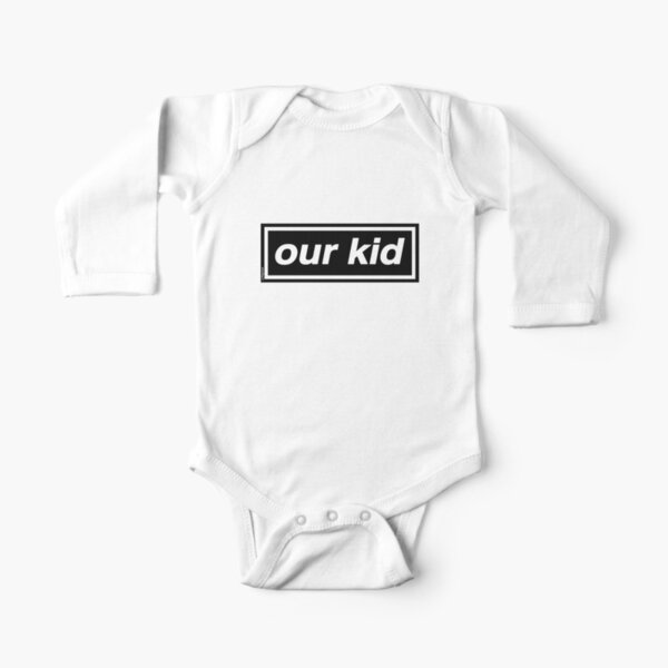 Our Kid - OASIS Band Tribute - MADE IN THE 90s Long Sleeve Baby One-Piece