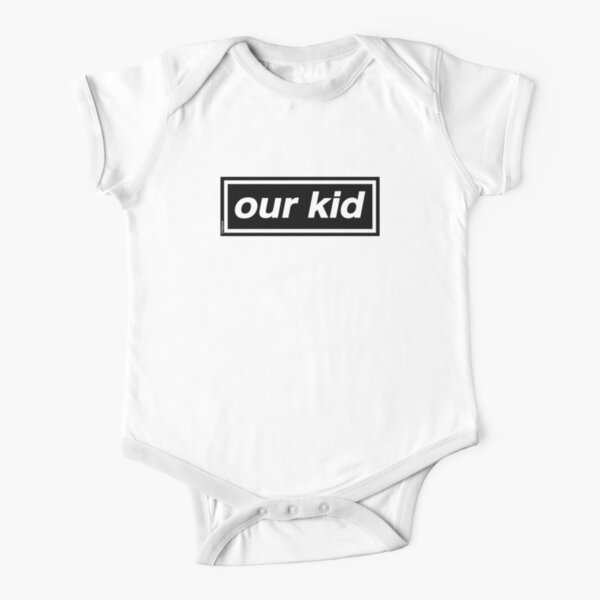 Our Kid - OASIS Band Tribute - MADE IN THE 90s Short Sleeve Baby One-Piece