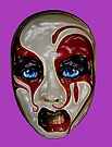 """Mask series """"Anger"""" by Martin Dingli"""