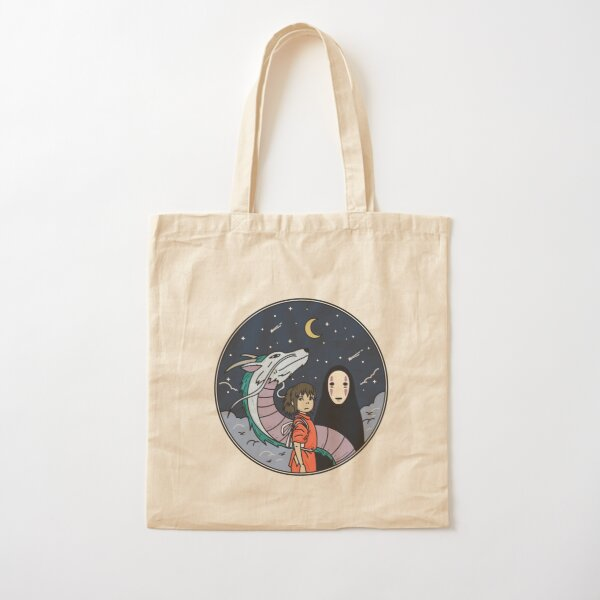 Spirited Away Badge Cotton Tote Bag
