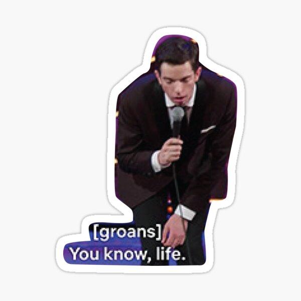 John Mulaney life Sticker
