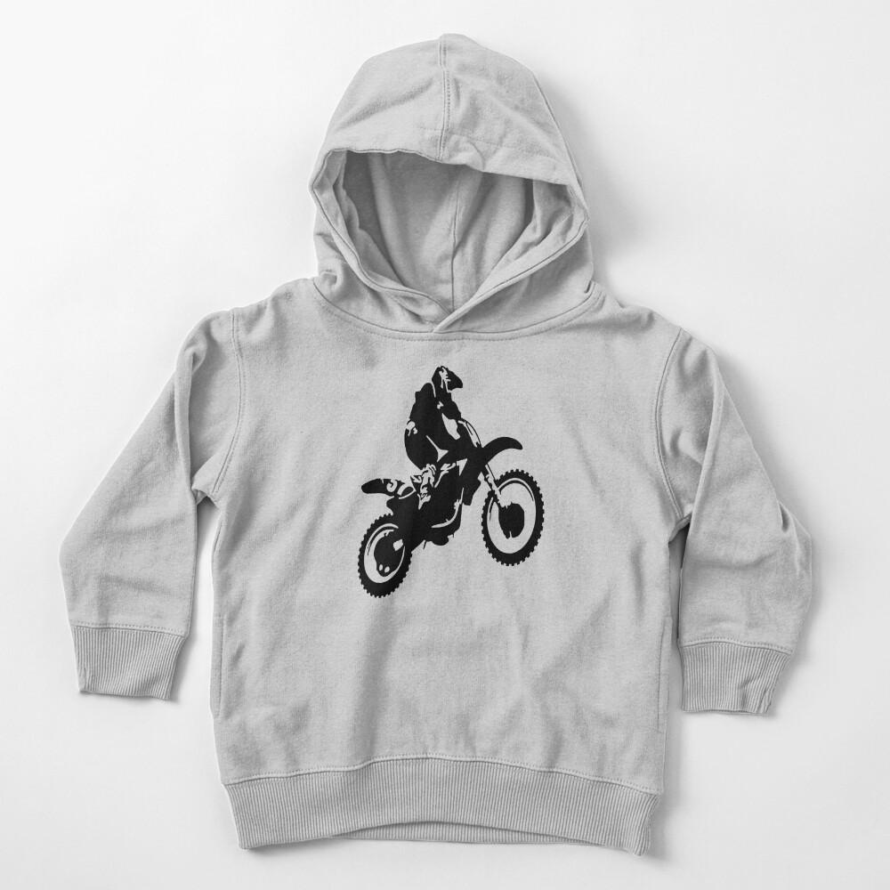 Motor X  Dirt Bike Toddler Pullover Hoodie