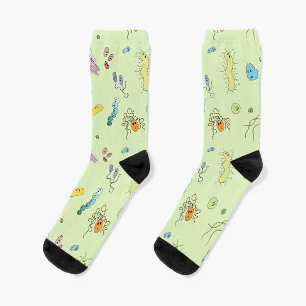 We're With Stupid (Smart Microbes) - For Light Shirts Socks