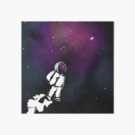Brian The Poostronaut Evacuates To Outer Space Art Board Print