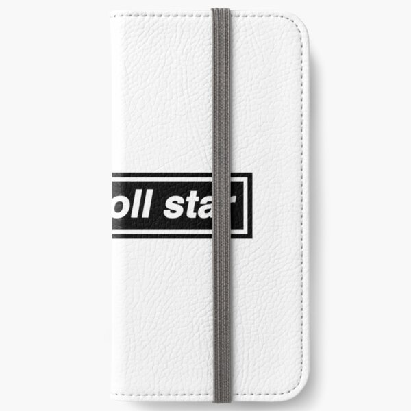 Rock n Roll Star - OASIS Band Tribute iPhone Wallet