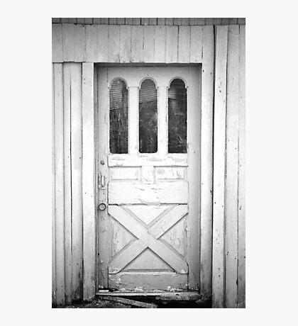 Spooky Old Door Photographic Print