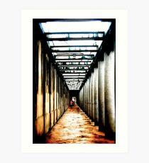 Rainy Streets of Copenhagen Art Print