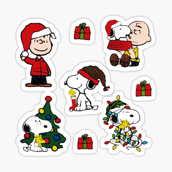 a charlie merry christmas 2019 brown all natalan Sticker