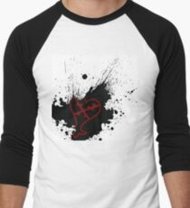 Kingdom Hearts Heartless Baseball ¾ Sleeve T-Shirt