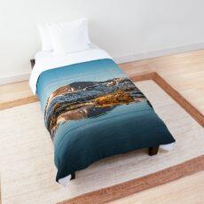 Winter landscape in Iceland II Comforter