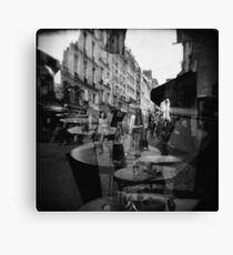 Lunch, coffee and a walk  Canvas Print