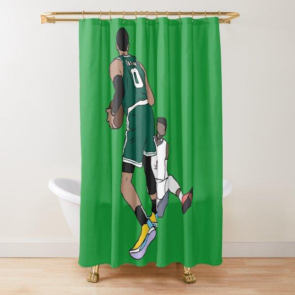 Jayson Tatum Crosses Over Paul George Shower Curtain