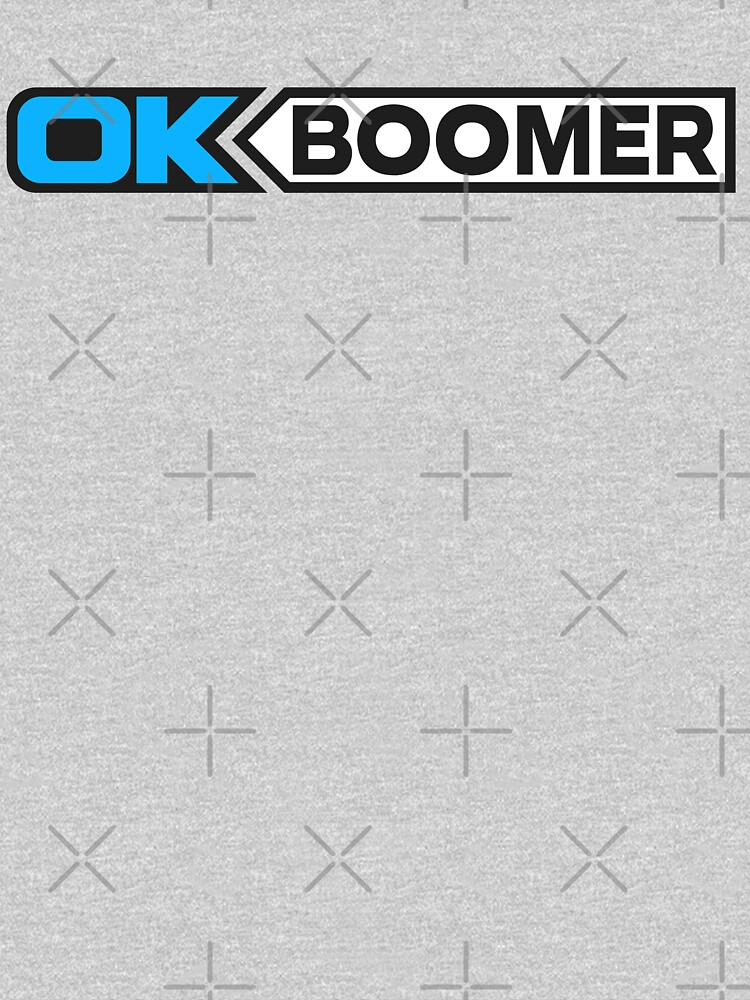 OK BOOMER (Blue) by RoufXis