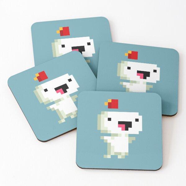 Fez - Jump For Joy Coasters (Set of 4)