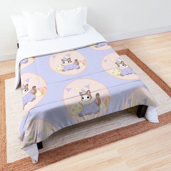 Clown cat Comforter