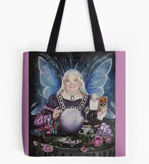 Good fairy faerie,fortune teller,tarot fantasy Tote Bag