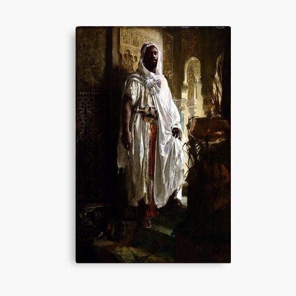 Eduard Charlemont The Moorish Chief Canvas Print